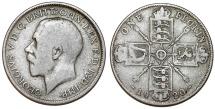 World Coins - Great Britain. King Edward VII (1902-1910). AR Florin 1920. Fine+