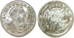 World Coins - Poland. John III Sobieski (1674-1696). Silver 6 Groschen 1682. VF