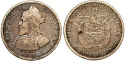 World Coins - Panama. Republic. AR 10 Centesimos 1904. VF, toned