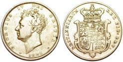 World Coins - Great Britain. George III (1760-1820). Gold Sovereign 1826. Choice VF/XF.