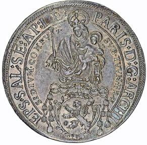 World Coins - Salzburg. Archbishops rule: Paris Graf Lodron (1619-1653). AR Thaler 1626. Choice XF