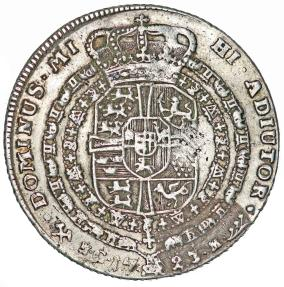World Coins - Norway under Denmark. Frederik IV (1699-1730). AR 1 Krone of 4-Mark 1723 HCM. VF