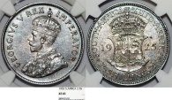 World Coins - British South Africa. Silver 2 1/2 Shillings 1924. NGC XF45, rare date!