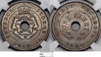 World Coins - Southern Rhodesia. George VI. CuNi Penny 1940. NGC MS62