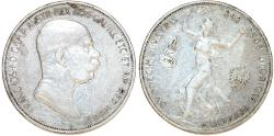 World Coins - Austrian Empire. Franc Josef I (1848-1916) Commemorative Silver 5 Corona 1908. Fine+
