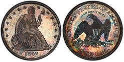 Us Coins - USA. Pattern Coin. AR 50 Cents 1862. Judd-295. PCGS PR65