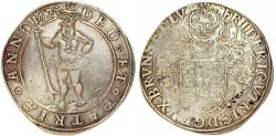 World Coins - Germany: Brunswick-Wolfenbuttel. F. Ulrich (1613-1634). Silver Taler 1624 H-S. Choice VF