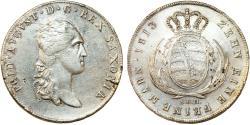 World Coins - GERMANY. Saxony. Friedrich August III. (1763-1806). AR Taler 1813 SGH. Choice XF/AU