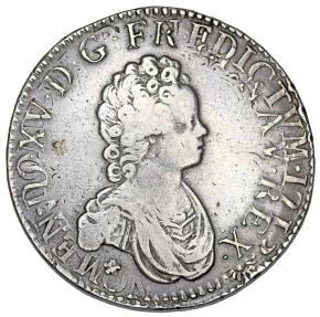 World Coins - France. Lyon. King Luis XV