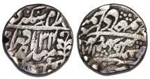 World Coins - India. AR 1 Rupee 1869. VF