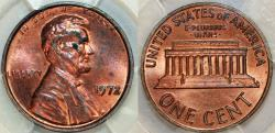 Us Coins - Lincoln Cents, Memorial Reverse 1972 Doubled Die Obverse. PCGS MS64  RB!
