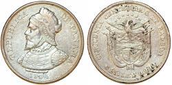 World Coins - Panama. Republic. AR 50 Centesimos 1904. VF