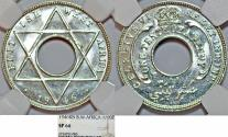 World Coins - British West Africa. George VI. RARE Specimen 1/10 Penny 1946KN, NGC SP66!