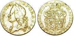 World Coins - Great Britain. George II. (1727-1760). Gold Guinea 1759. VF