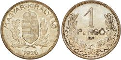 World Coins - Hungary. Regency. AR 1 Pengo 1926. XF+