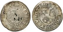 World Coins - Poland/Germany. Silesia/Breslau. Bishop Johann V Turzo (1506-1520). AR Groschen 1506. Fine+, rare
