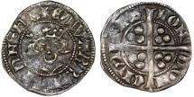 World Coins - Great Britain. PLANTAGENET. Edward I. 1272-1307. AR Penny ND. Fine+/AVF