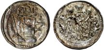 World Coins - Medieval Poland. Cracow. Boleslav the Bold (1058-1080). Silver Denar ND. Choice VF, RARE!