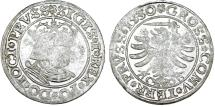 "World Coins - Poland. For Prussia. King Sigismund I ""Old"" (1506-1548). AR Groschen 1530. VF."