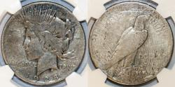Us Coins - USA. Peace Dollar 1929. NGC VG8, RARE