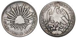 World Coins - Mexico. AR 1 Real 1842. VF