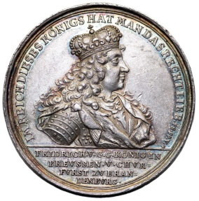 World Coins - THE KINGDOM OF PRUSSIA. King Frederick I (1701-1740). Silver