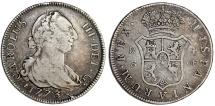 SPAIN, Reino de España. Carlos III. 1759-1788. AR 4 Reales 1773 S. Good VF, toned