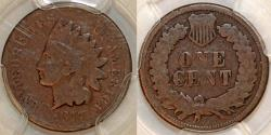Us Coins - USA. Indian Cent 1877. PCGS G06!