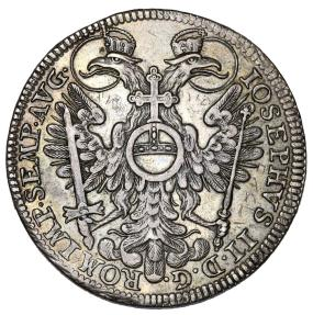 World Coins - Germany. City of Nurnburg as  part of HRE. AR Reichstaler 1765. XF, toned.