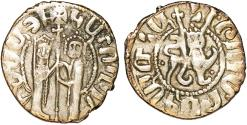 World Coins - ARMENIA. Cilician Armenia. Royal. Hetoum I (1226-1270). Half Tram ND. ABout VF