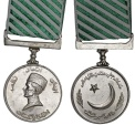 "World Coins - Pakistan. Military Award: for Layalty: "" Pakistan Founder Medal"" Issued 1976. UNC"