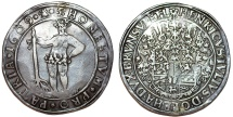 World Coins - Germany: Brunswick-Wolfenbuttel. H. Julius (1589-1613). Silver Taler 1609. Toned XF