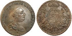 World Coins - Germany. Hessen - Kassel. Friedrich II (1760 - 1785) Nice Silver Gulden = 2/3 Taler 1767-FU. Choice VF/XF