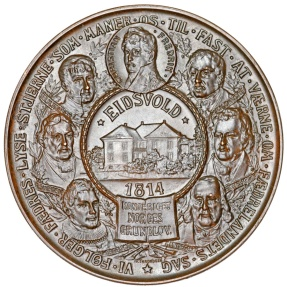 World Coins - Norway. Haakon VII (1905-1958). AE60 Medal