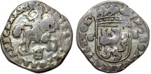 World Coins - Netherlands. City of Zwolle. AR 6 Stuiver 1690. about VF