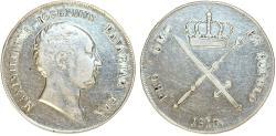 World Coins - Germany. Bavaria. Maximilian I Joseph (1806-1825). AR Taler 1813. VF+