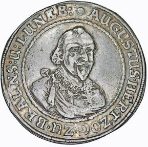 World Coins - Germany. Brunswick-Wolfenbüttel. August the Young (1635-1666). AR