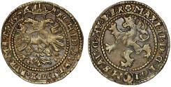 World Coins - BOHEMIA: Emperor of H.R.E. Maximilian II (1564-1576) AR Weissgroschen 1576. Nice Choice VF