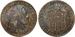 World Coins - Italy. Naples & Sicily. Ferdinando IV (1759-1805) AR Mezzo Piastra da 60 Grana 1798 P-AP. XF+, toned, RARE!