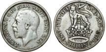 World Coins - Great Britain. George V. AR Shilling 1933. AVF