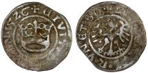 World Coins - Silesia. City of Swidnica. Ludwig I. AR Half Gross 1526. Fine+