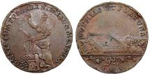 World Coins - Germany. City of Clausthal (1753-1790). Copper Reichspfennig ND. VF, patina