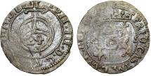 World Coins - Baltic States: Courland - tied to Poland. Frideric Casmir (1682-1698). AR 1/24 Taler 1689. RARE , FINE+