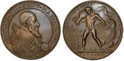 World Coins - Italy. Papal States. Paul III (Alessandro Farnese). (1534-1549). AE Medal ND. Choice VF