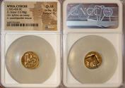 World Coins - MYSIA, Kyzikos. Circa 500-450 BC. EL Stater (19mm, 15.98 g). NGC Choice VF