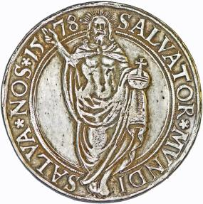 World Coins - Sweden: Johan III (1568–1592). AR Riksdaler 1578. About VF. RARE!