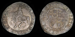 World Coins - ENGLAND  – (1625-42) Tower Halfcrown, Charles I