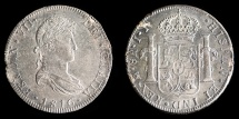 World Coins - MEXICO – Spanish Colonial 1816 Mo J.J. 8 Reales Ferdinand VII