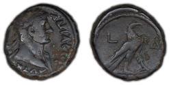 Ancient Coins - ROMAN PROVINCIAL – Egypt, Alexandria, Hadrian, Tetradrachm, Yr. 4 (119/20 A.D.), eagle reverse