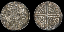 World Coins - ENGLAND – (1248 – 1250) Penny, Henry III, Voided Long-Cross type, Class 2b, London, Nicole